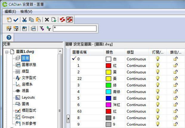 CADian瀏覽器大勝AutoCAD設計中心